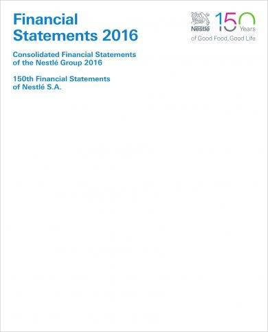 annual financial statement reporting example