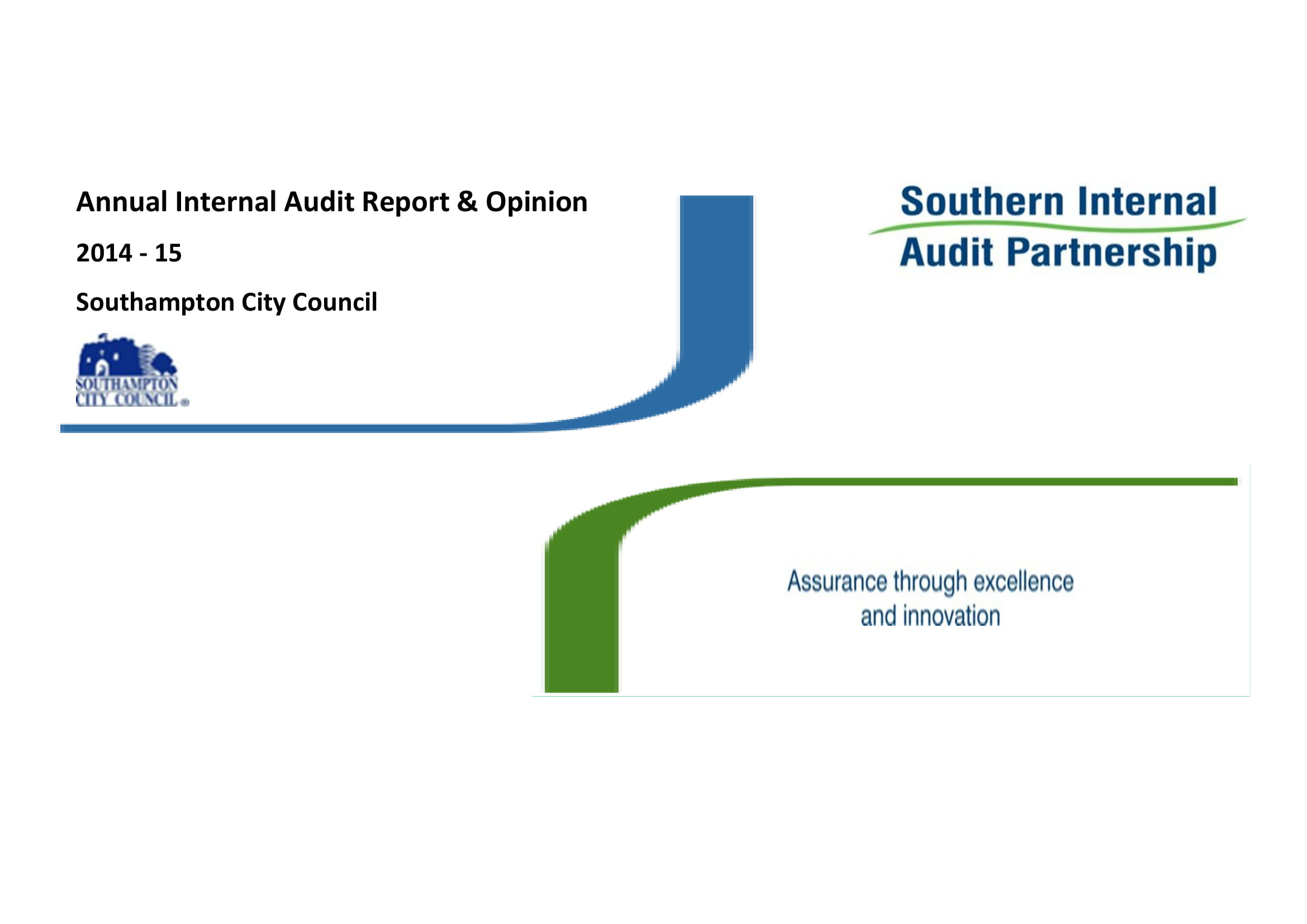 annual internal audit report and opinion example 01