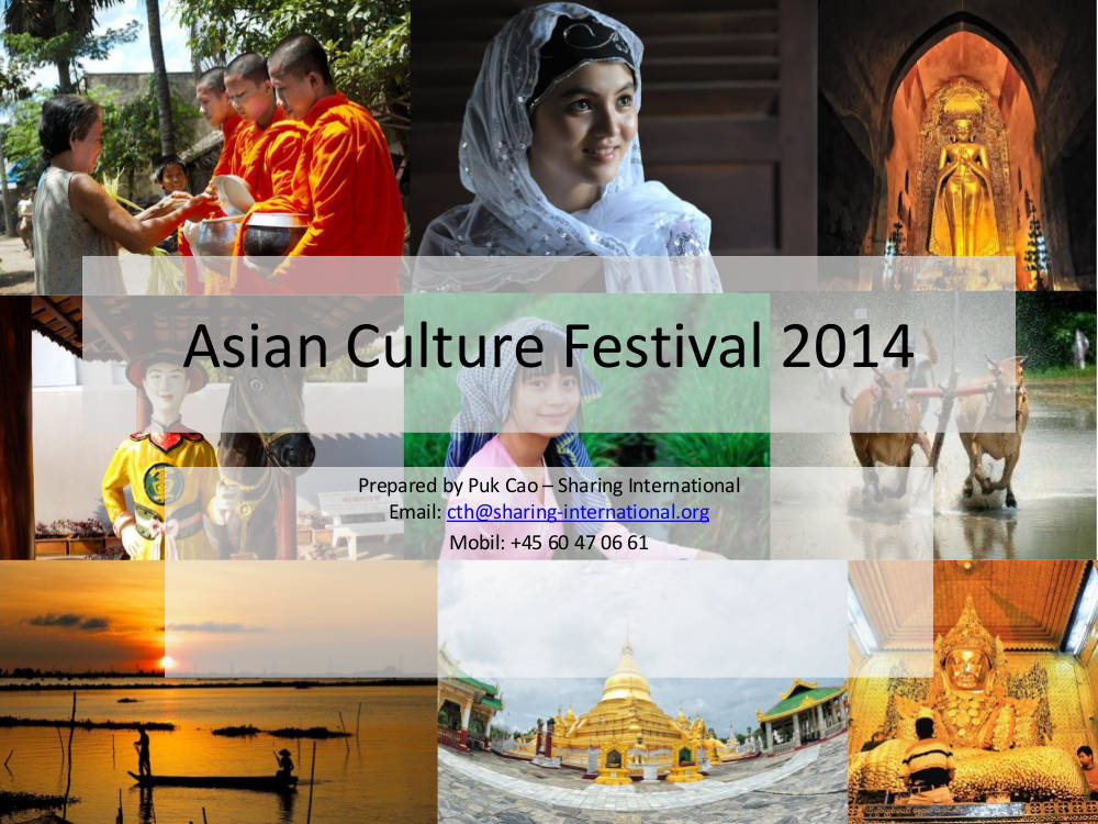 asian culture festival event proposal example