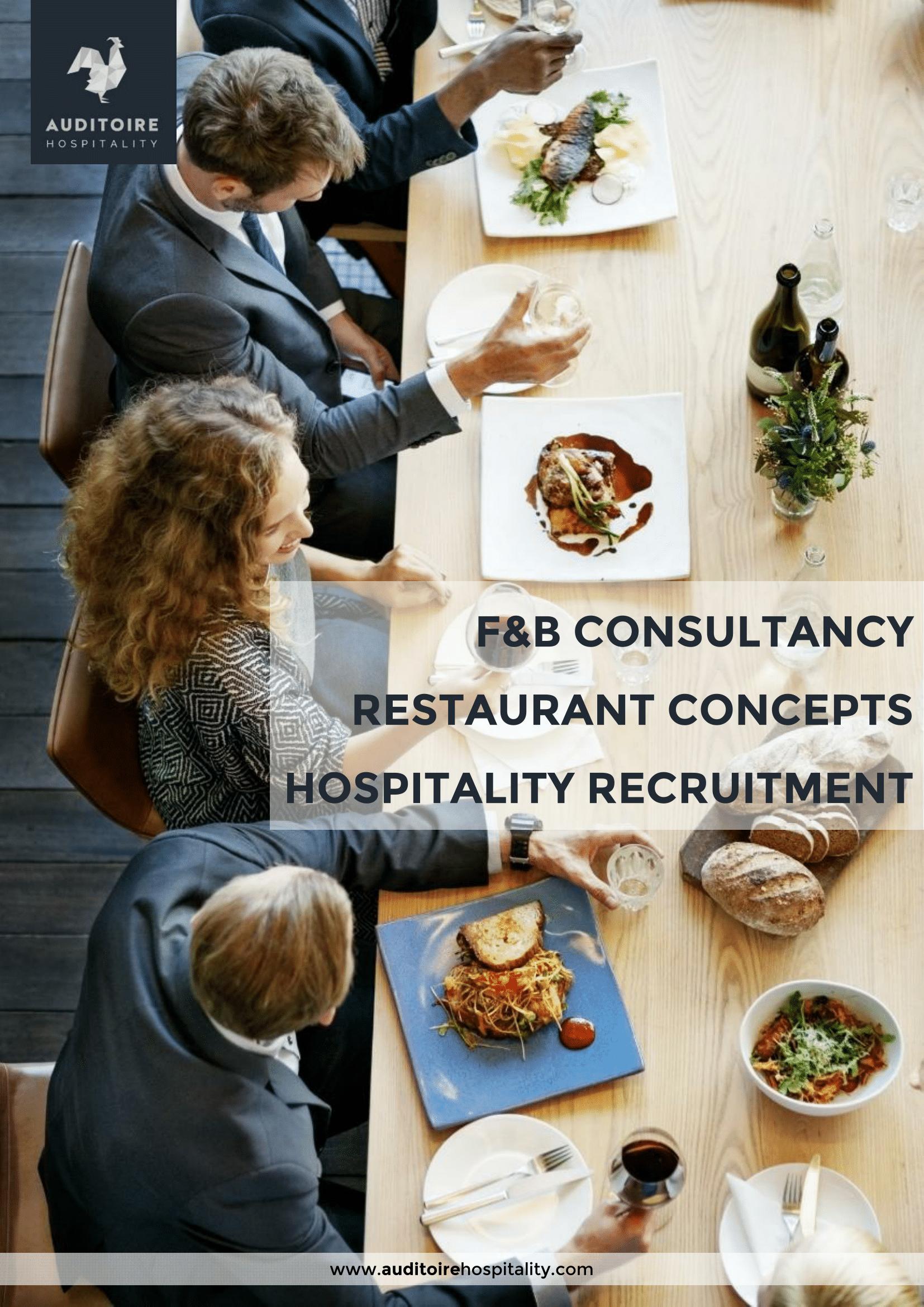 auditoire hospitality company profile 2018