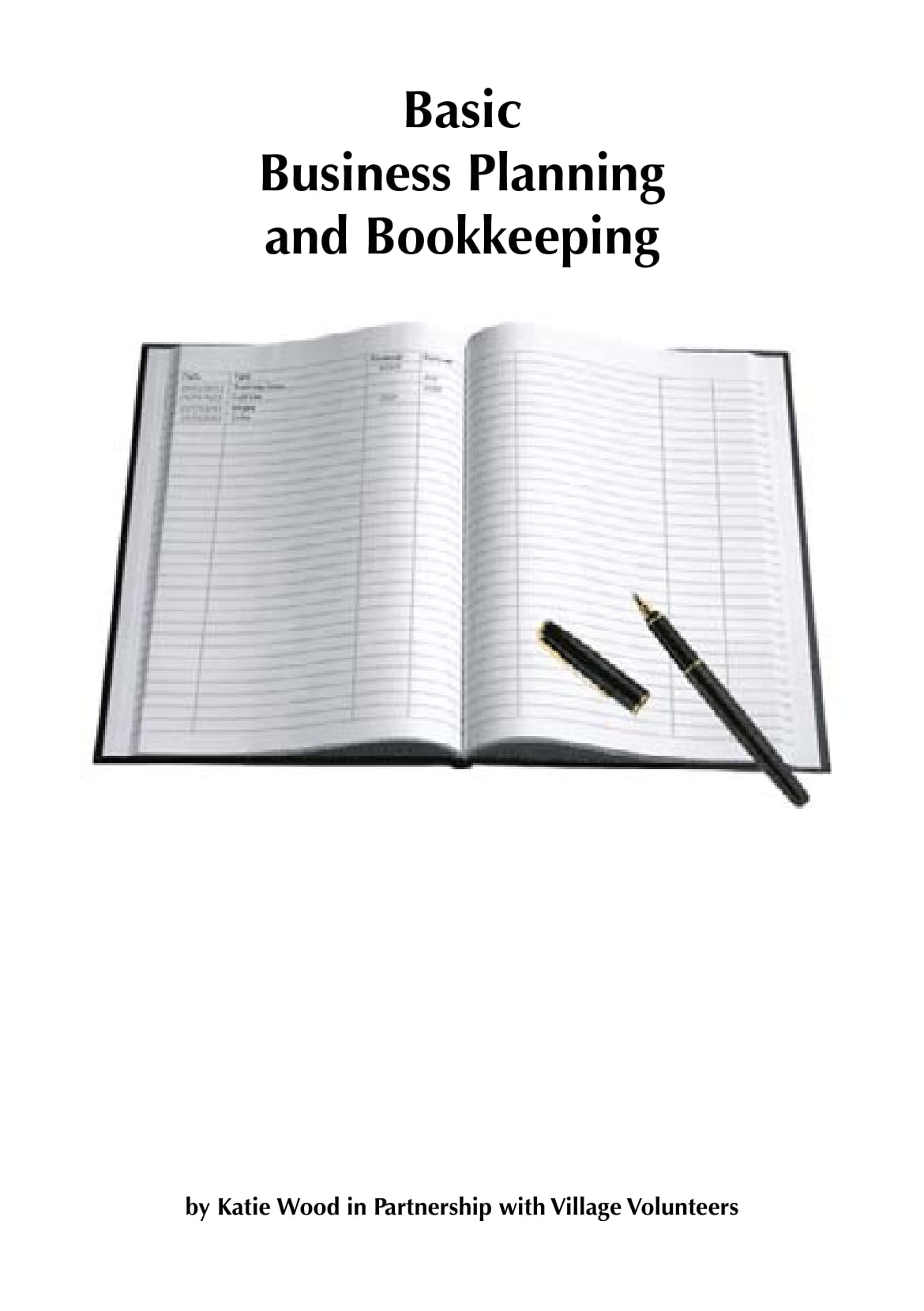 basic bookkeeping business plan example