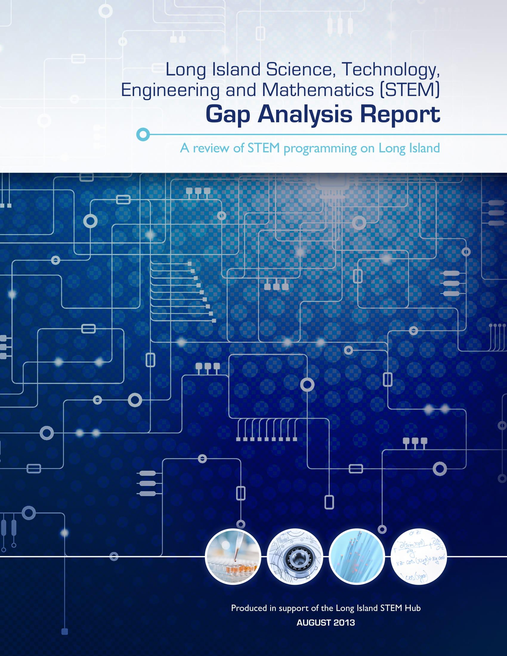 basic gap analysis report example 01