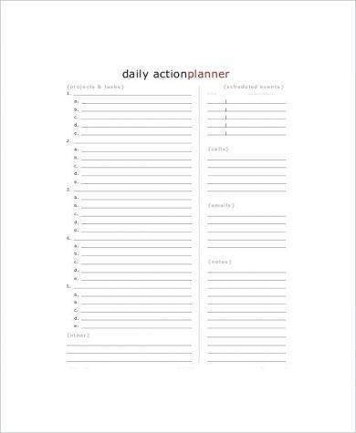 blank daily action planner1
