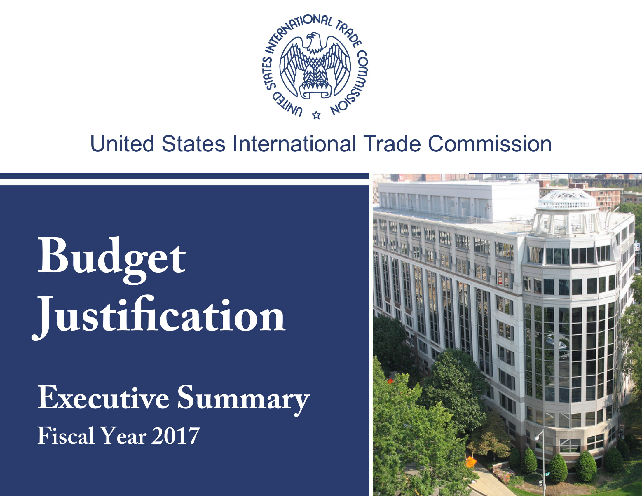 budget justification executive summary example 01