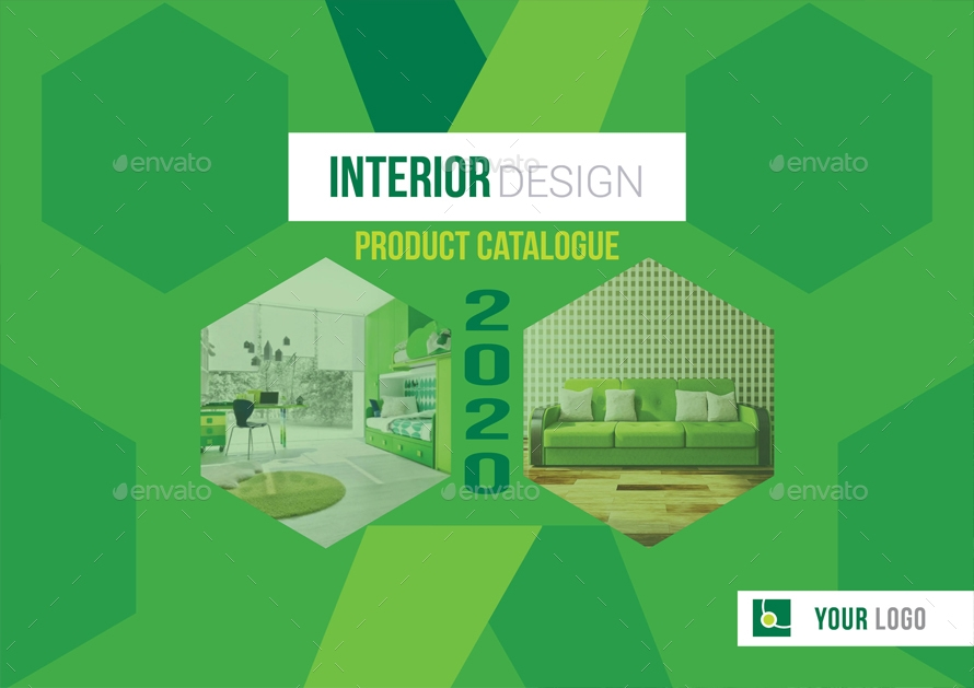 business interior catalog template example