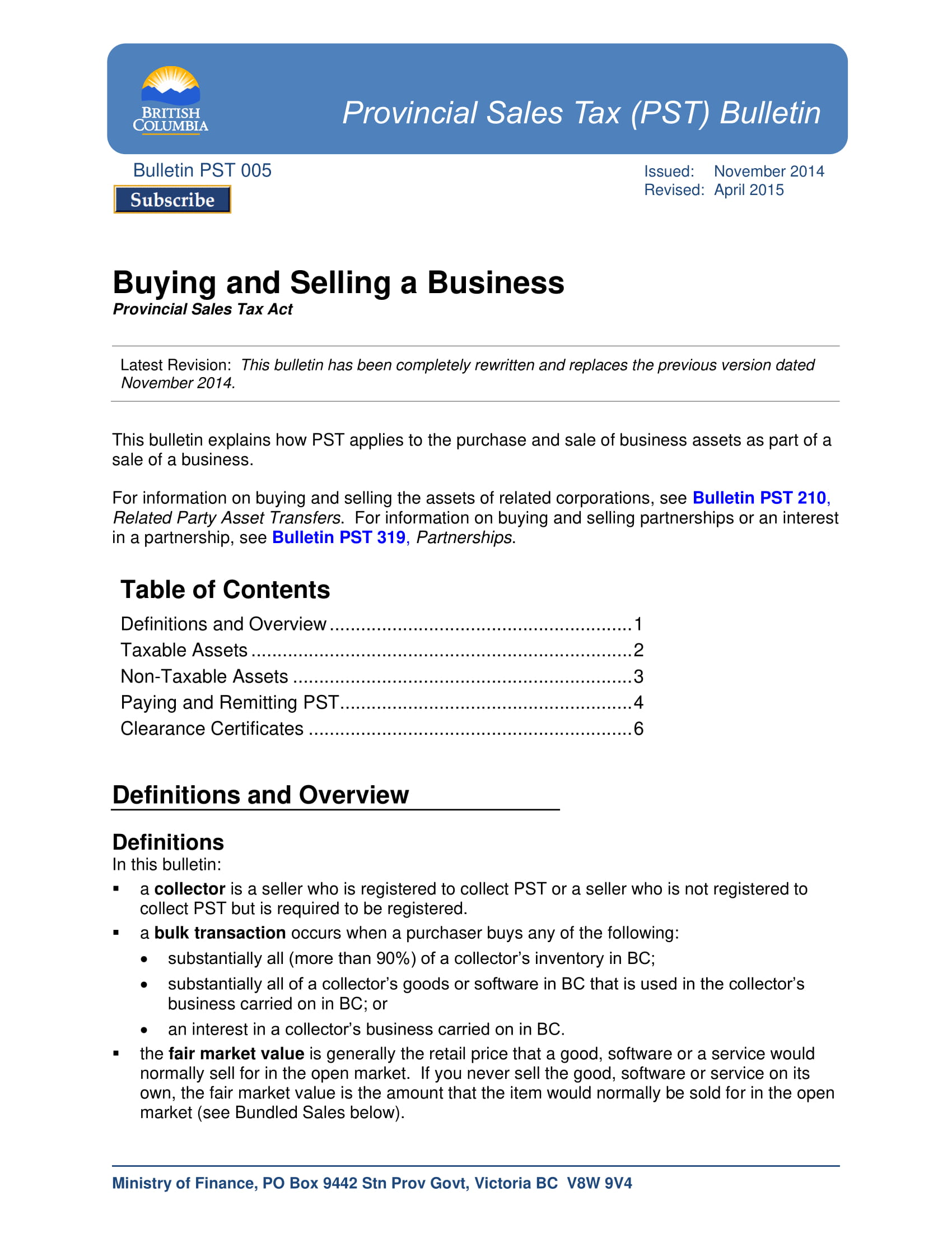 buying and selling a business proposal development and instructions example 1