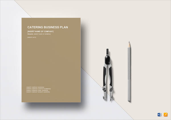 catering business plan design example
