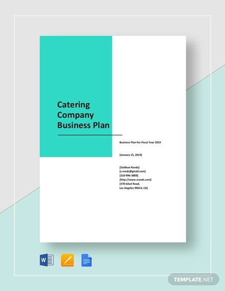 catering company business plan template1