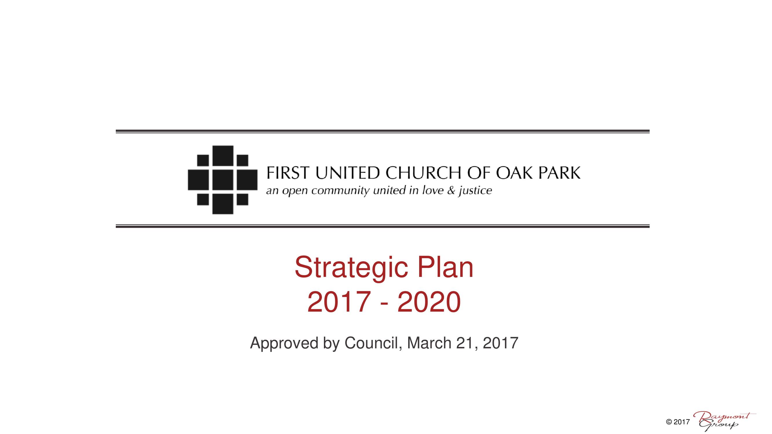 church strategic plan example 01