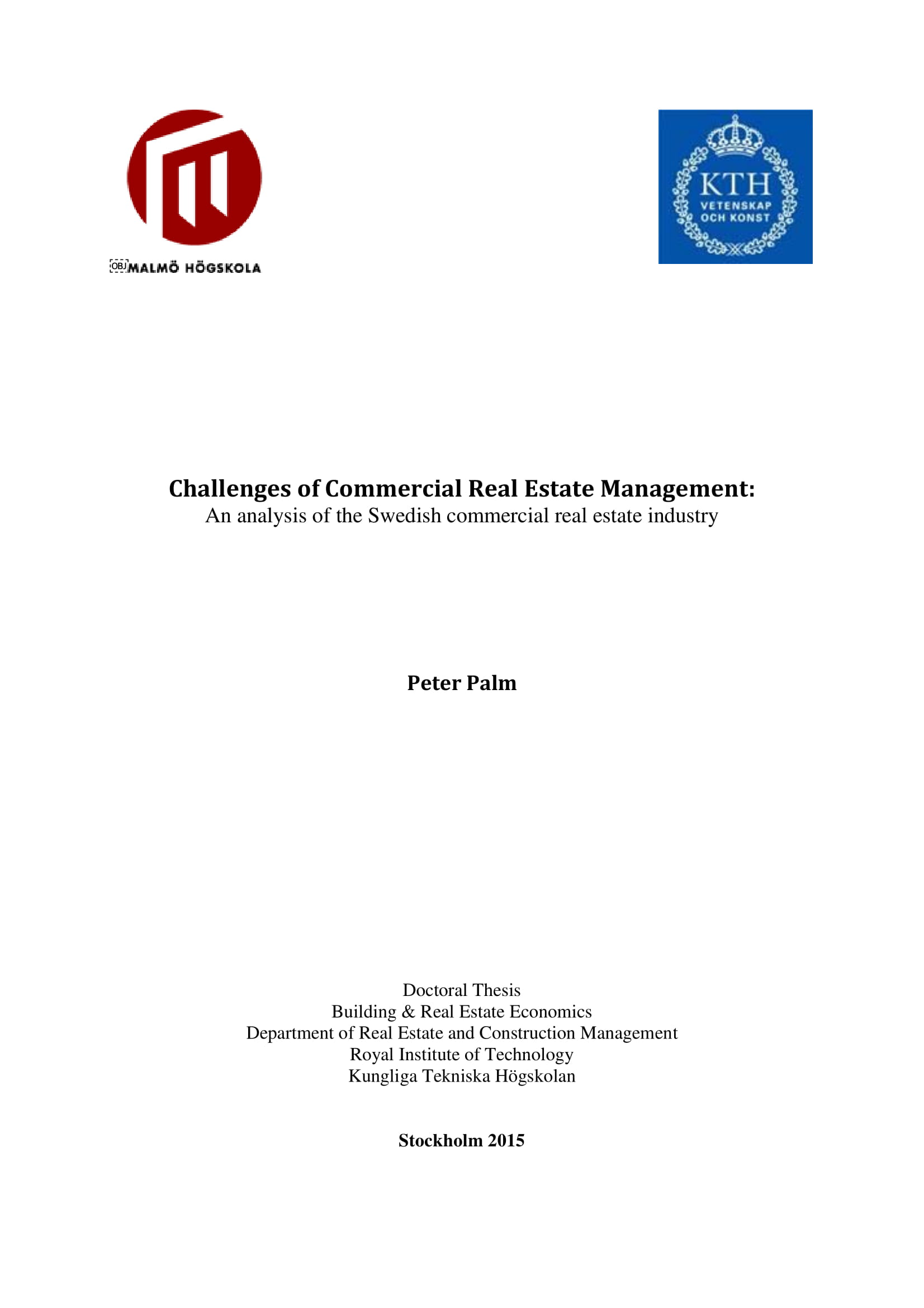commercial real estate management and marketing plan to combat challenges example 001