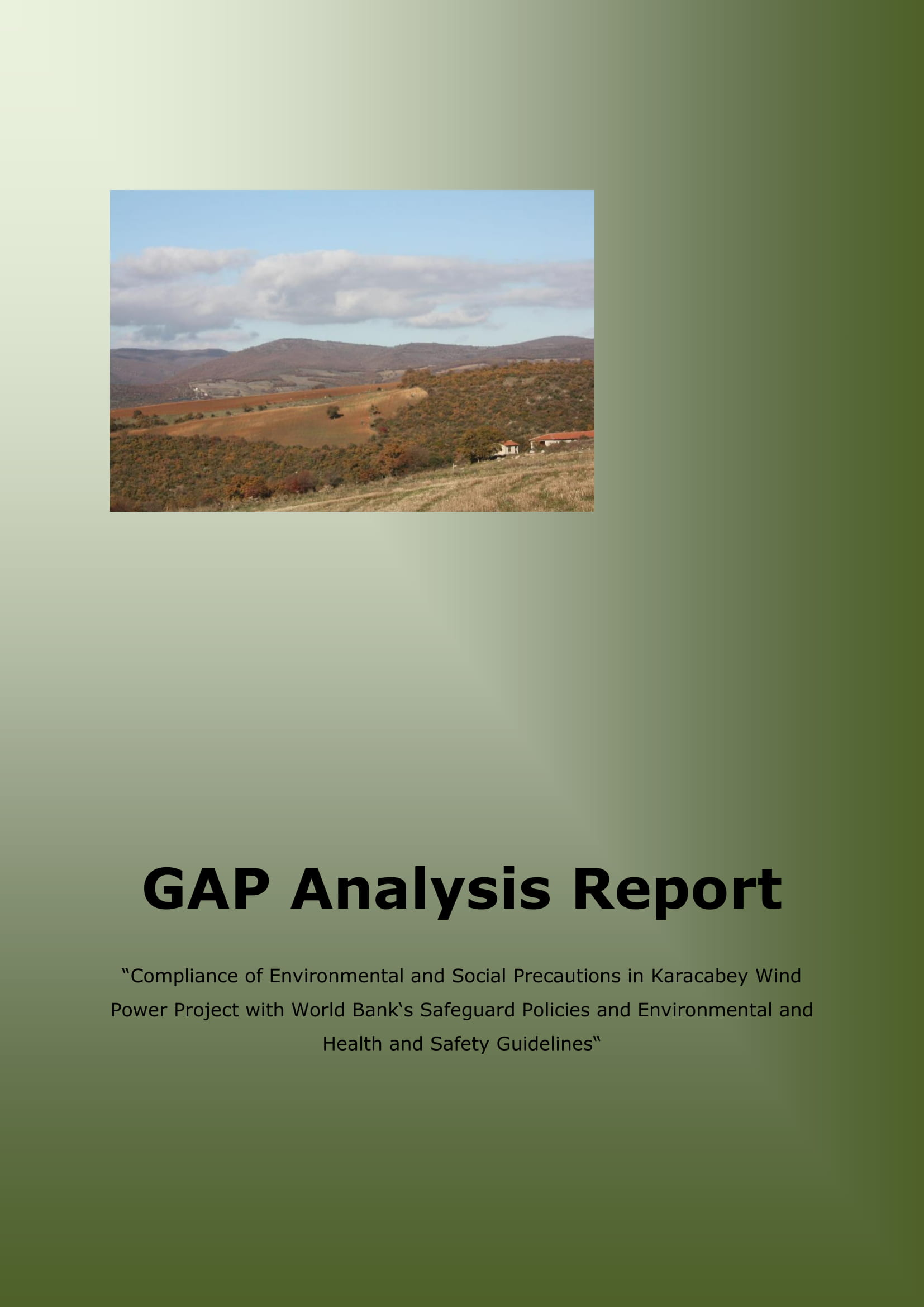 complete gap analysis report example 01