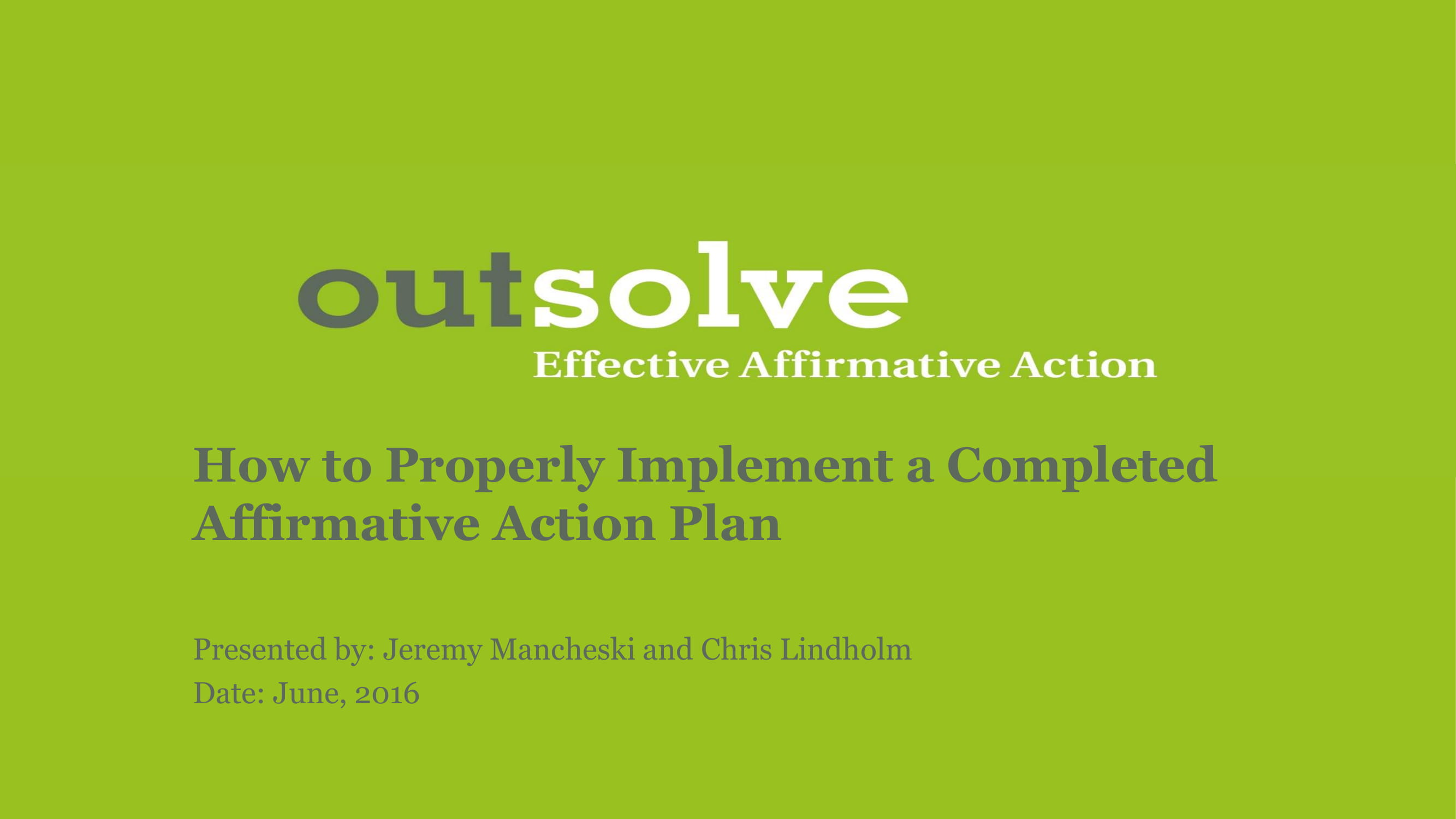 completed affirmative action plan example 01