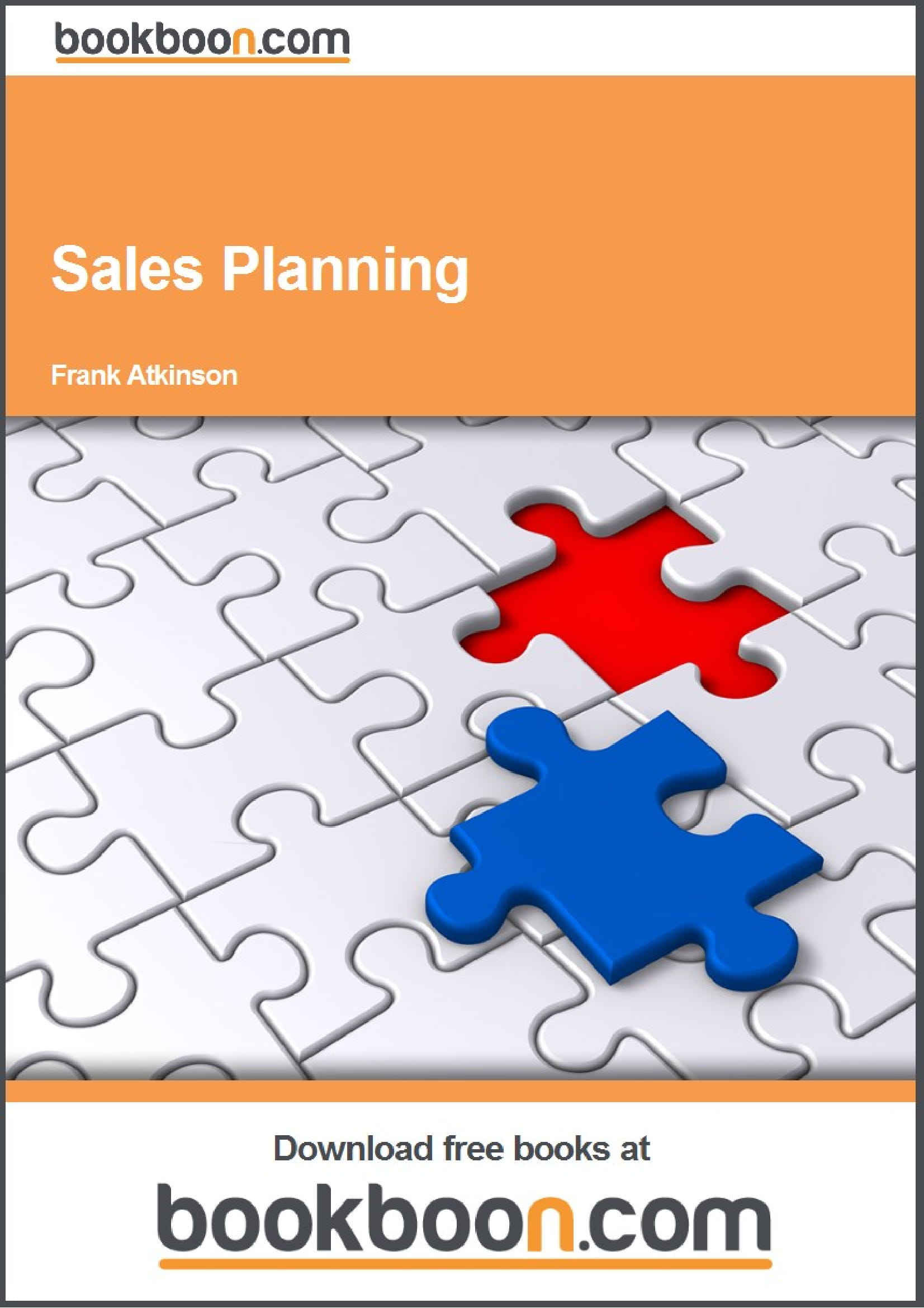 comprehensive sales plan example
