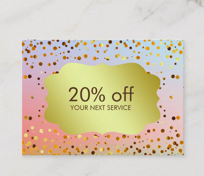 confetti gold coupon card voucher1