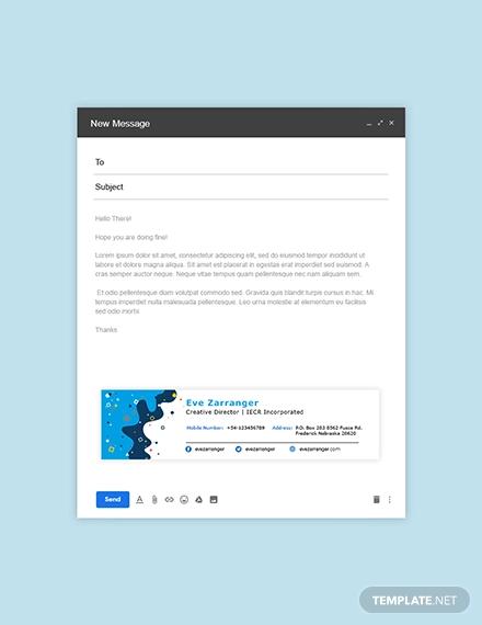 creative corporate email signature1