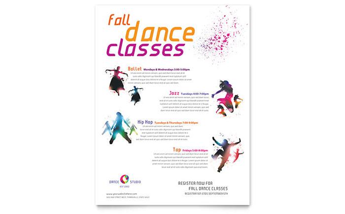 dance studio class marketing business plan