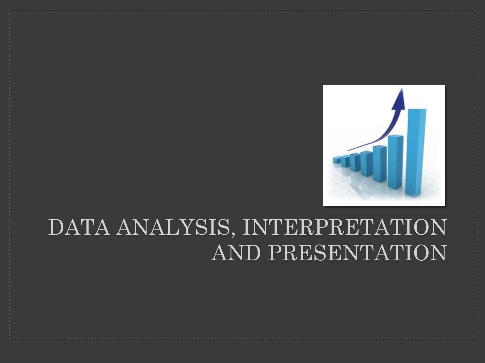 data analysis interpretation and presentation example 01