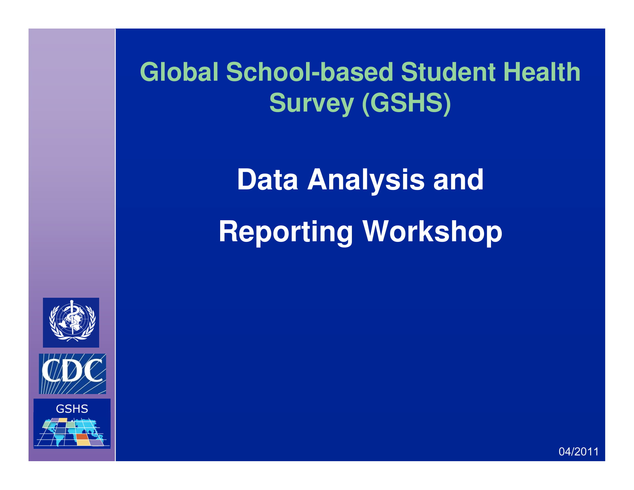 data analysis and reporting example 001
