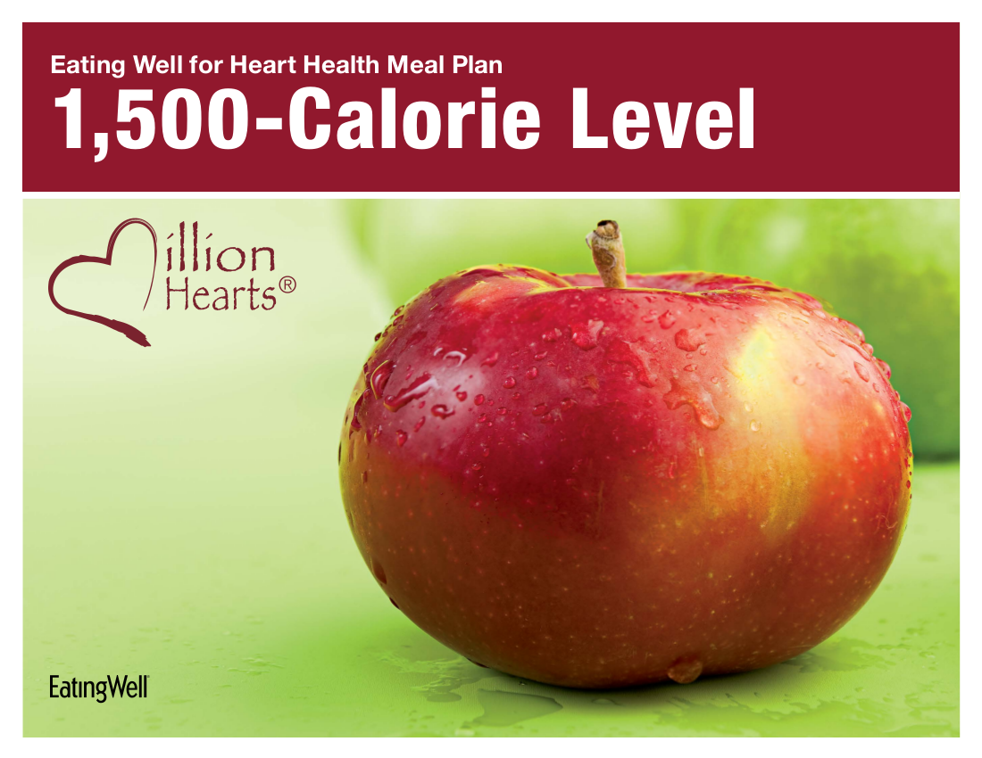 eating well for heart health meal plan