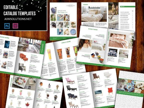 editable wholesale product catalog example