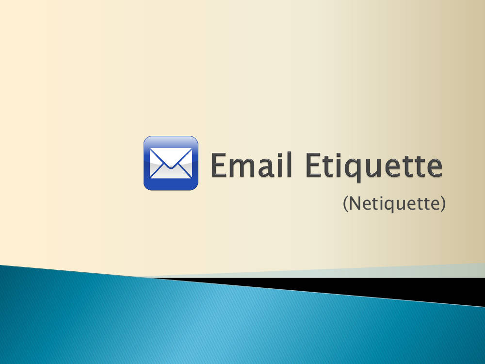 email writing etiquette