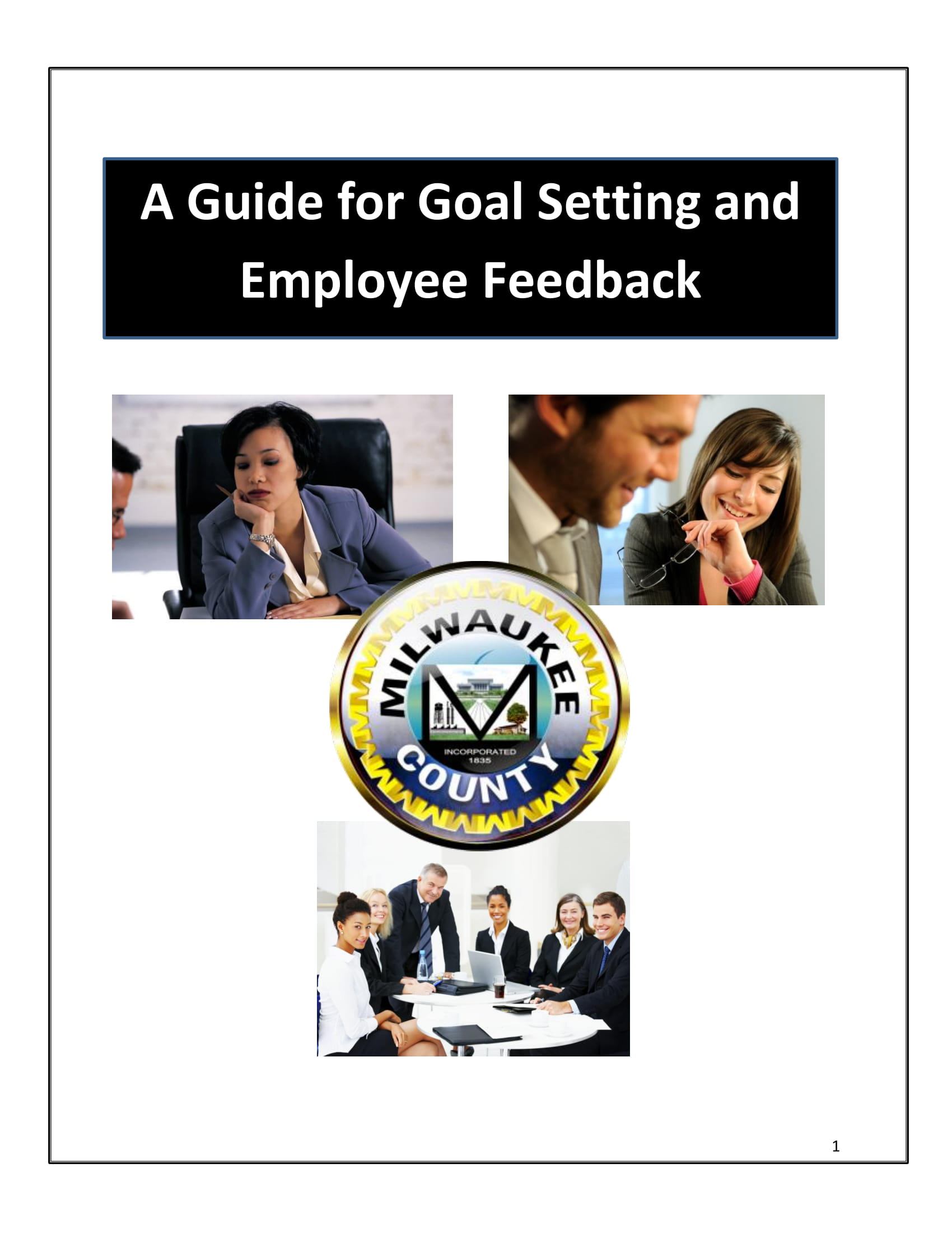 employee goal setting and feedback guide example