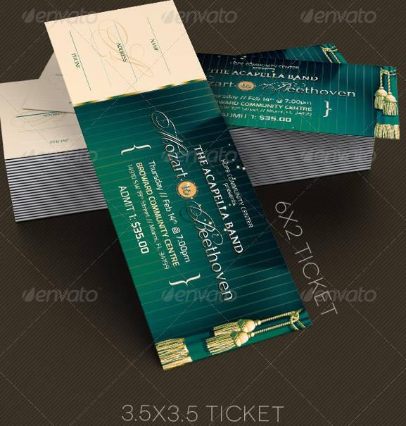 event show time ticket example bundle1