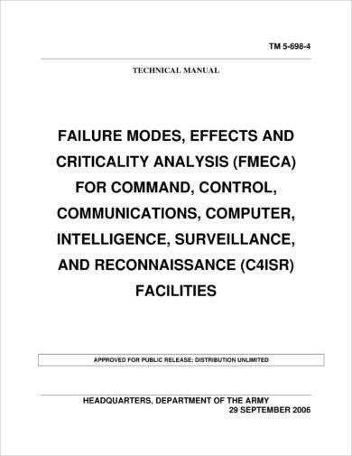 failure modes effects and criticality analysis example