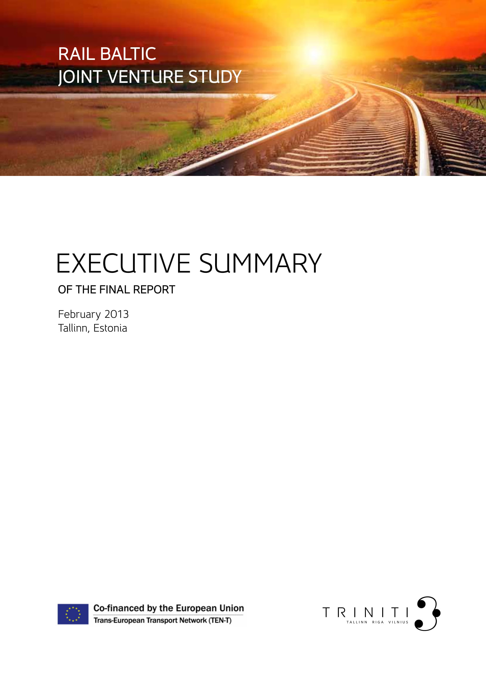 final report executive summary example