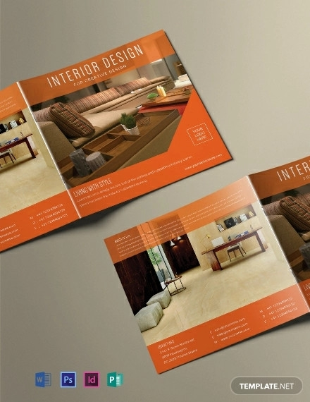 free square interior magazine template