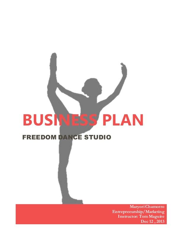 freedom dance studio business plan