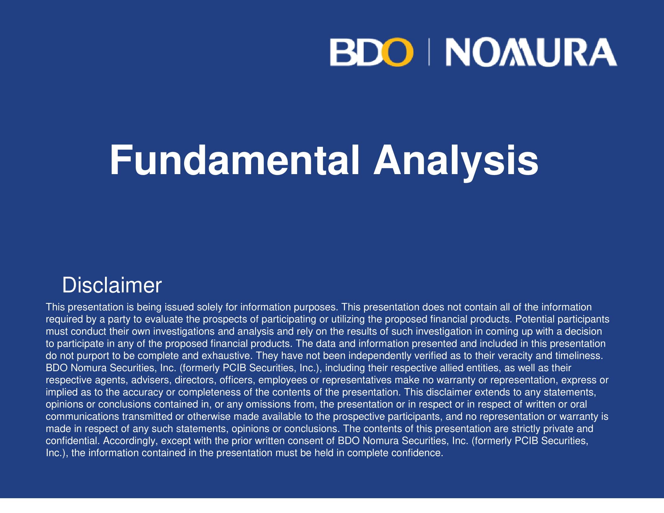 fundamental company analysis example