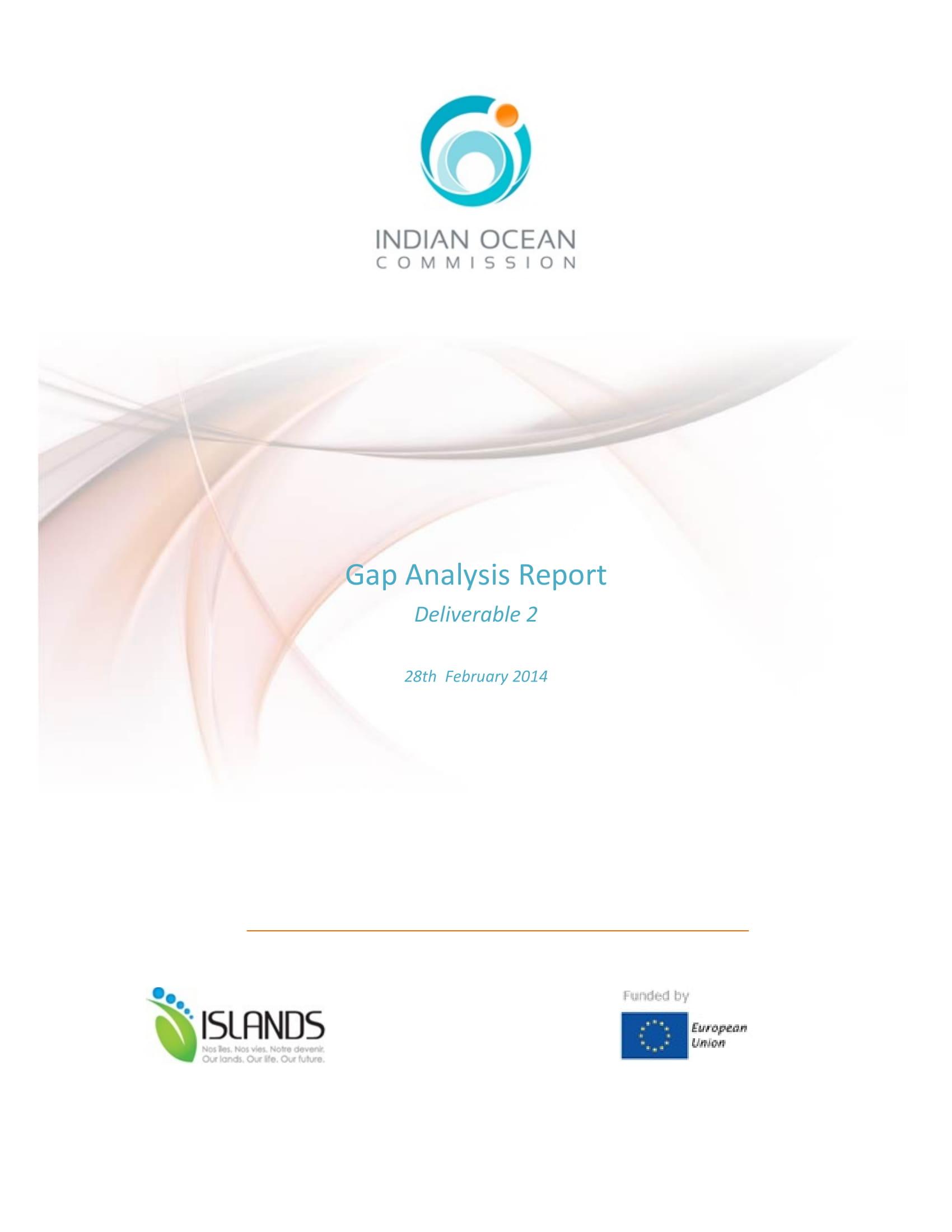 gap analysis report development guide example 01