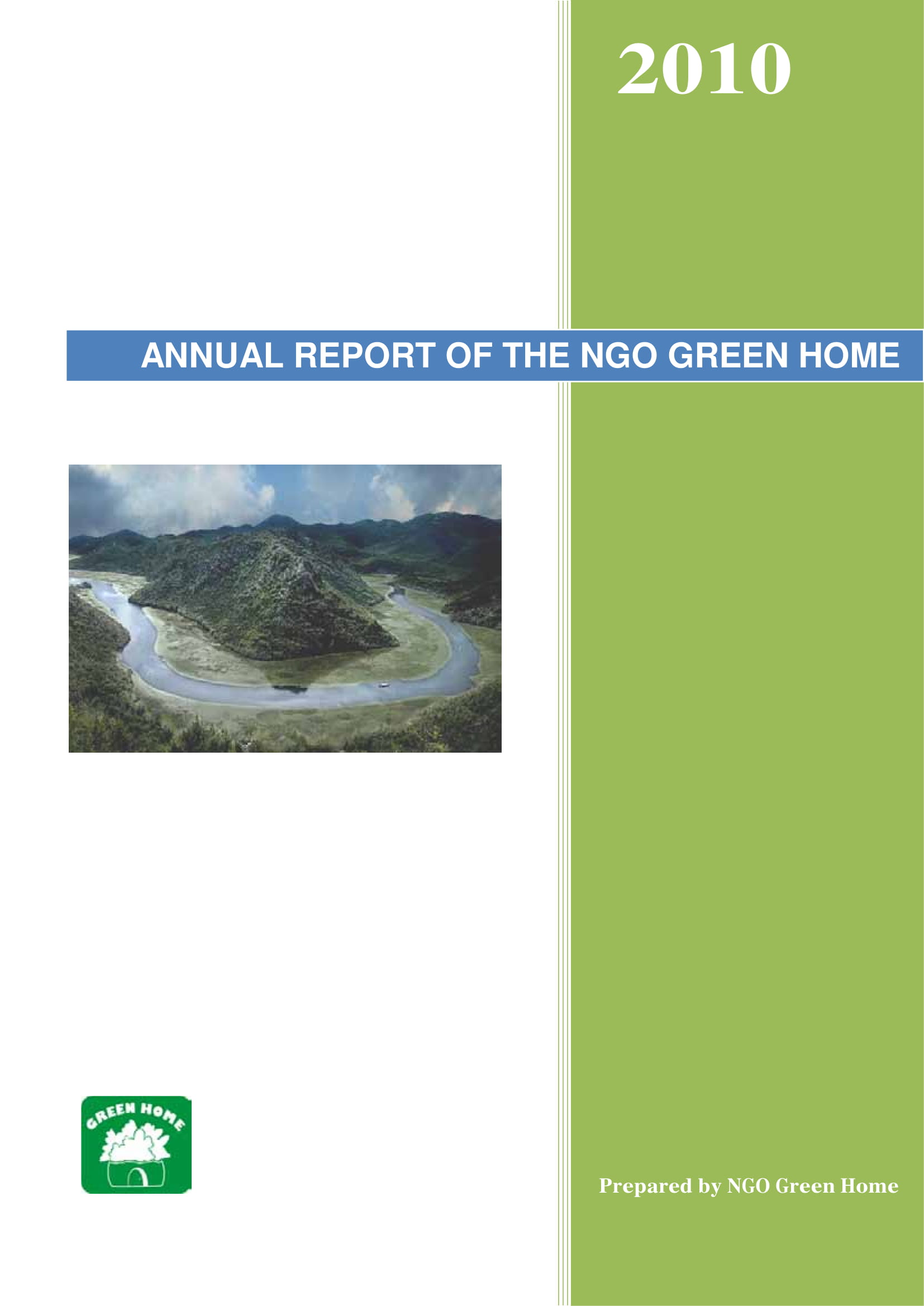 green home ngo annual report example