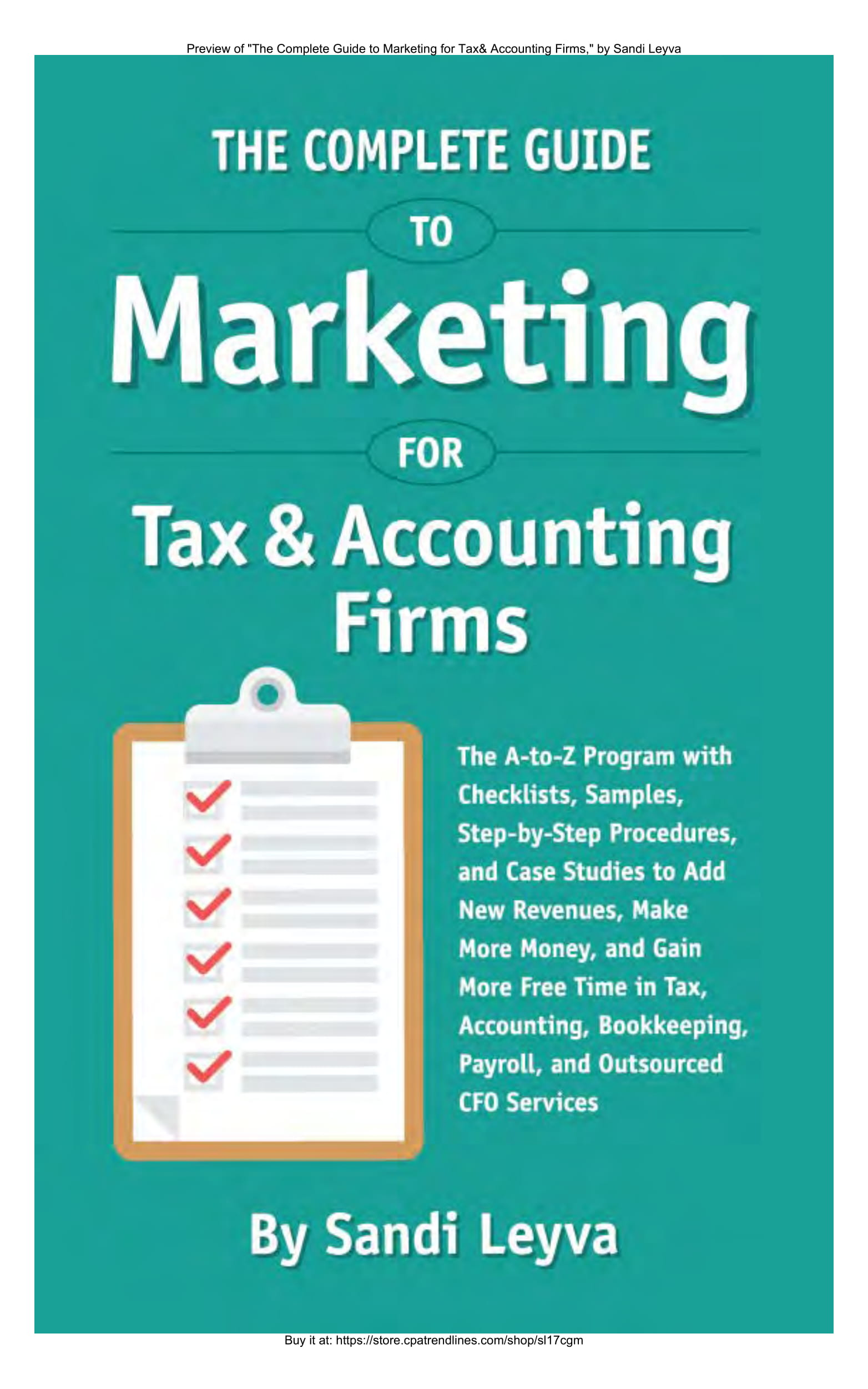 guide for accounting firm marketing plan example