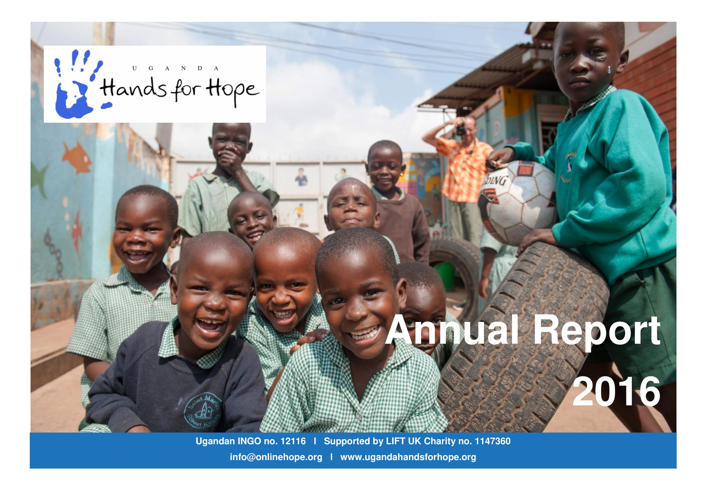 hands for hope ngo annual report example