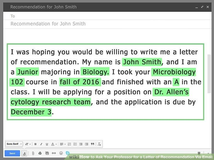 9+ Email Messages for Job Reference Examples - PDF | Examples