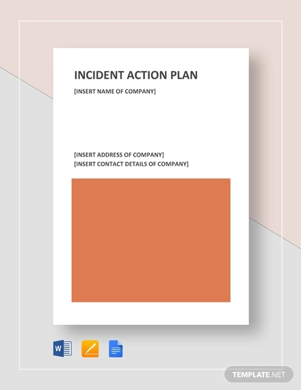 incident action plan example1