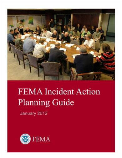 incident action planning guide example
