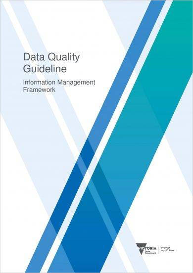 information management framework and planning guideline for data quality example