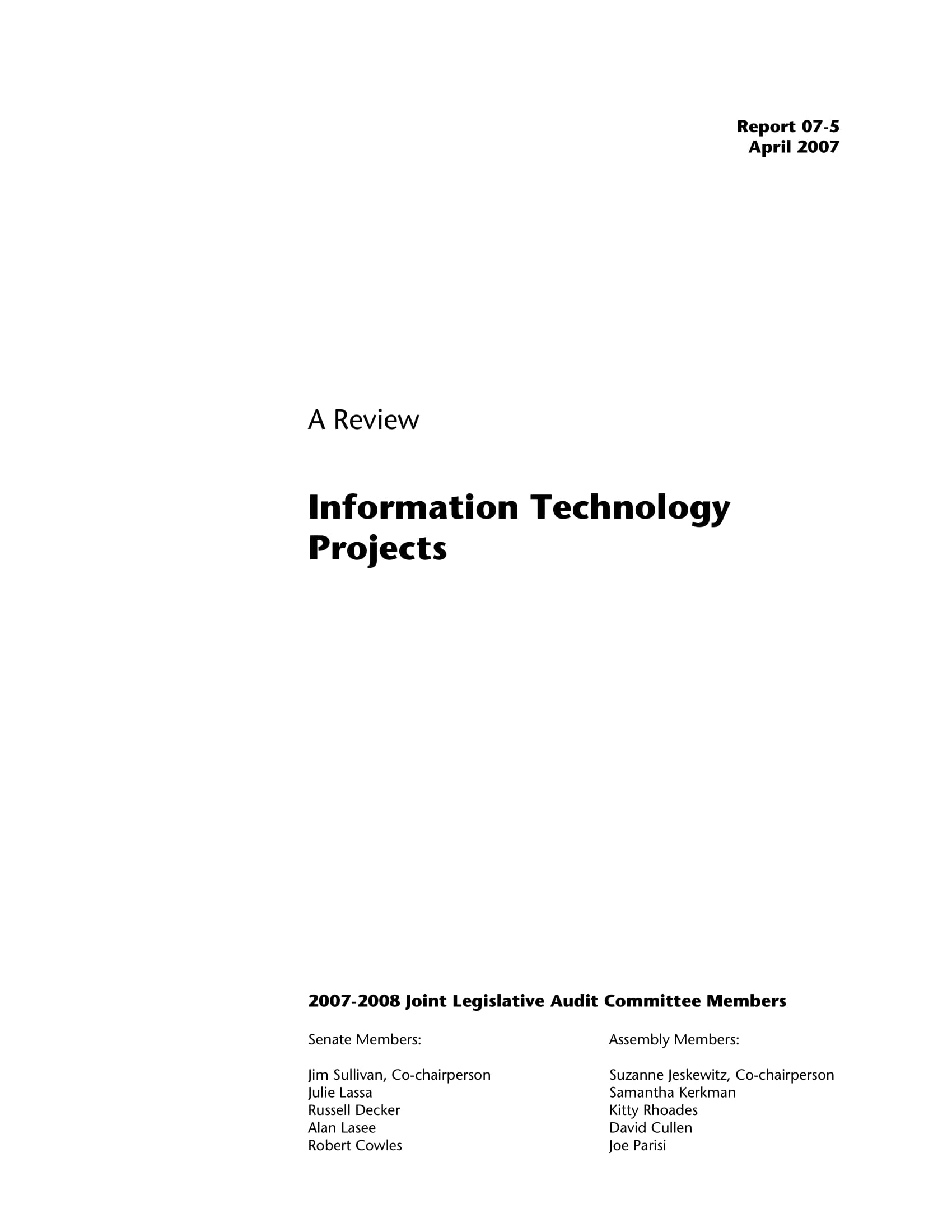9 information technology project proposal examples pdf