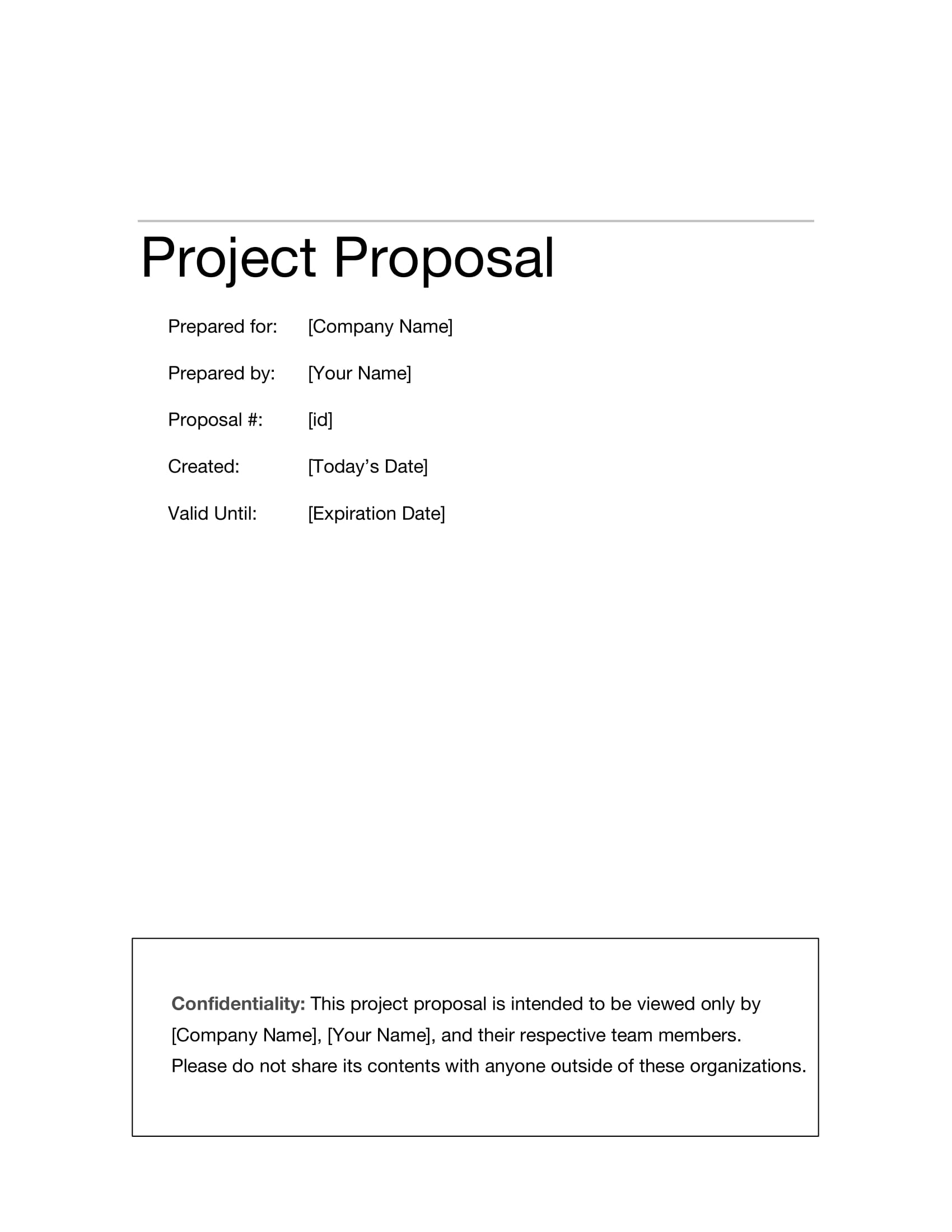 10+ Information Technology Project Proposal Examples - PDF, Word