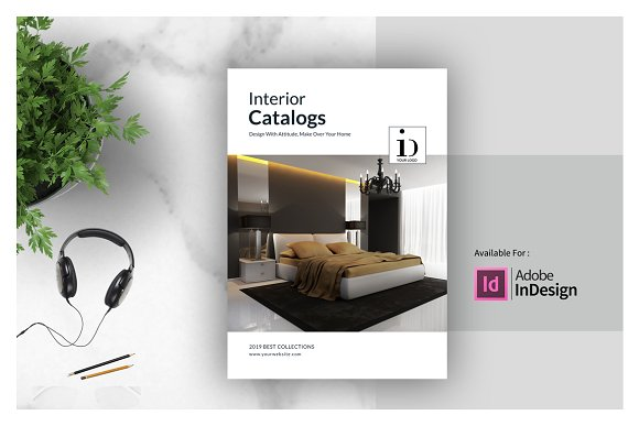 interior design for adobe indesign example