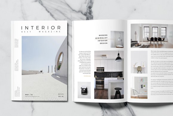 interior magazine and catalog example