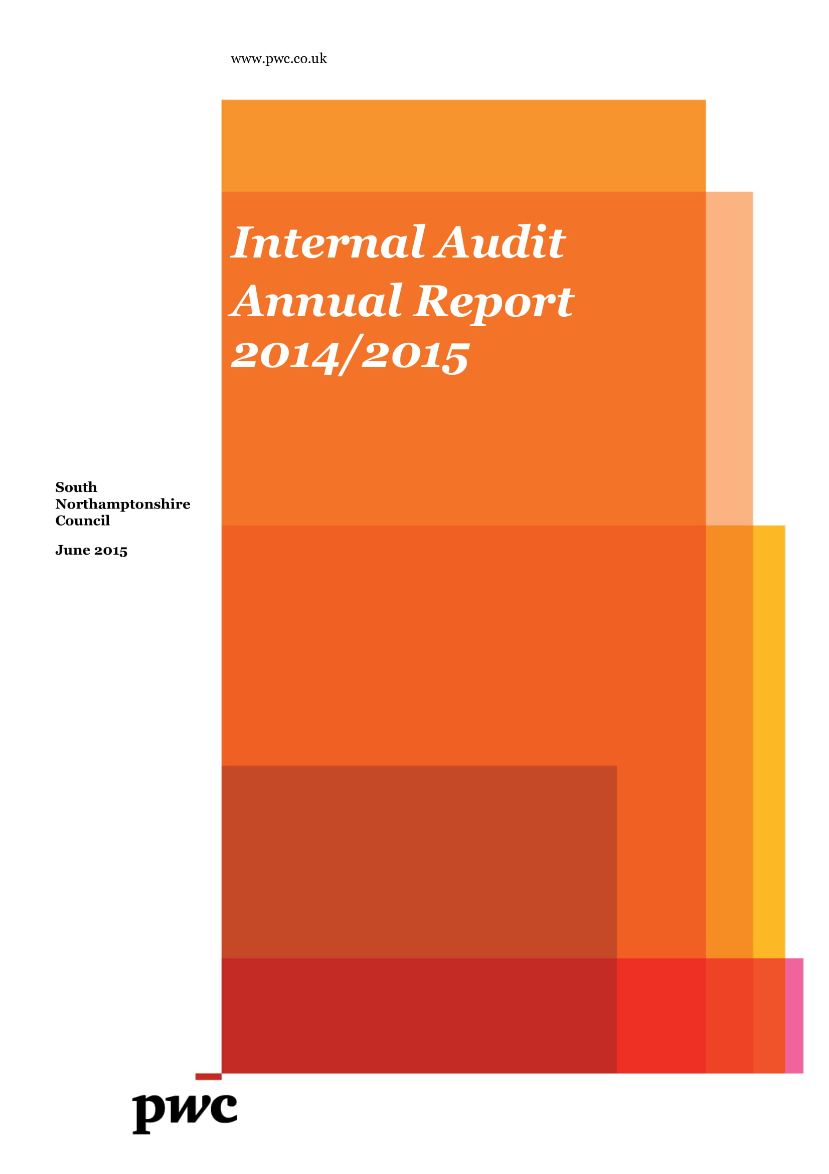 internal audit annual report example 01