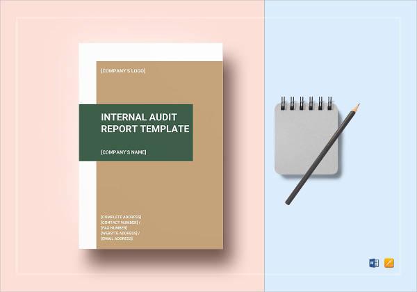 internal audit report design example