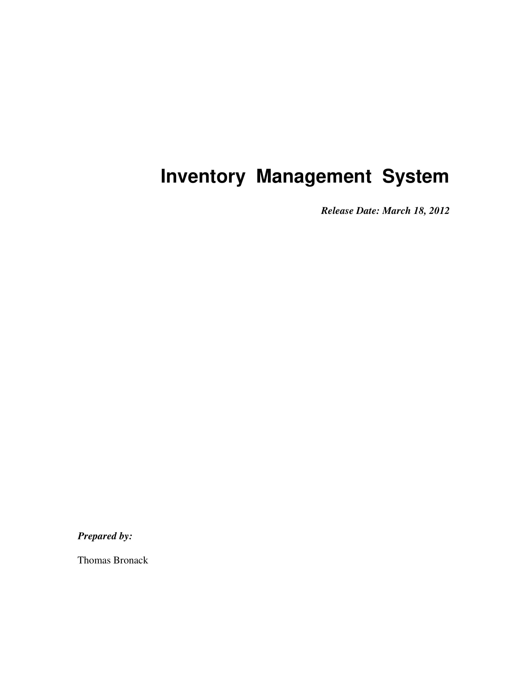 inventory management system or database example 01