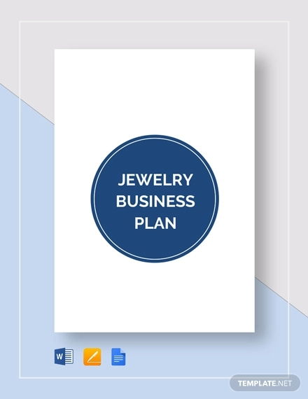 jewelry business plan example