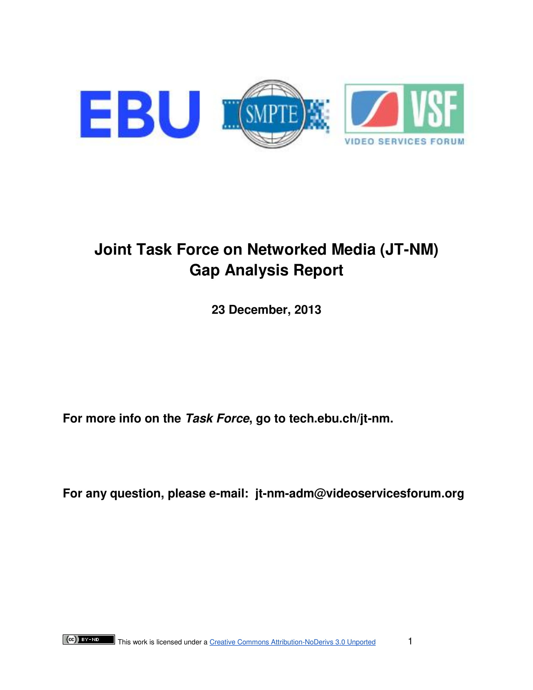 joint tasked force and network media gap analysis report example 001