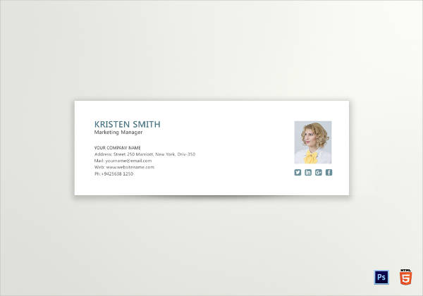 marketing manager email signature template1